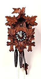 August Schwer Cuckoo Clock Five Leaves, Bird 2.0070.01.C