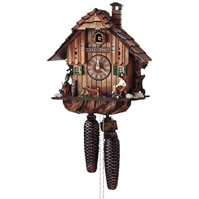 Schneider Black Forest 11 Inch 8 Day Movement Cuckoo Clock