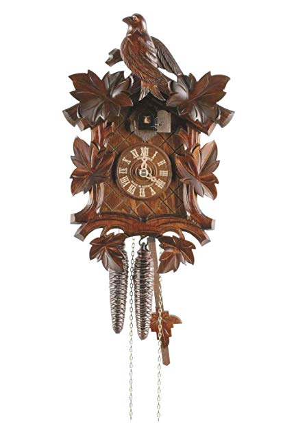 Anton Schneider Cuckoo Clock Six Leaves, Bird