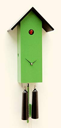 Rombach & Haas Modern cuckoo clock Simple line, 1 day running time