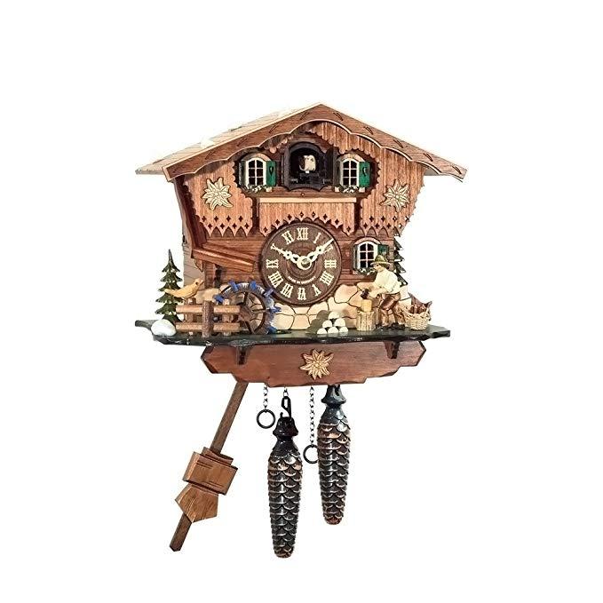 Black Forest Woodchopper Cuckoo Clock