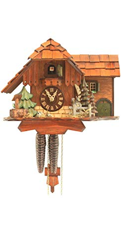 Rombach & Haas Cuckoo Clock Jumping Squirrel