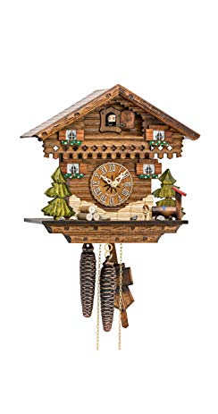 Kammerer Uhren Hekas Cuckoo Clock Little Black Forest House