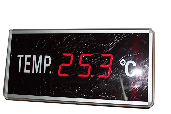 AZOOU LED Signs Display Temperature