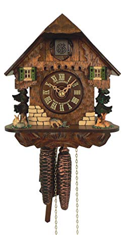 Anton Schneider Cuckoo Clock Little Black Forest House
